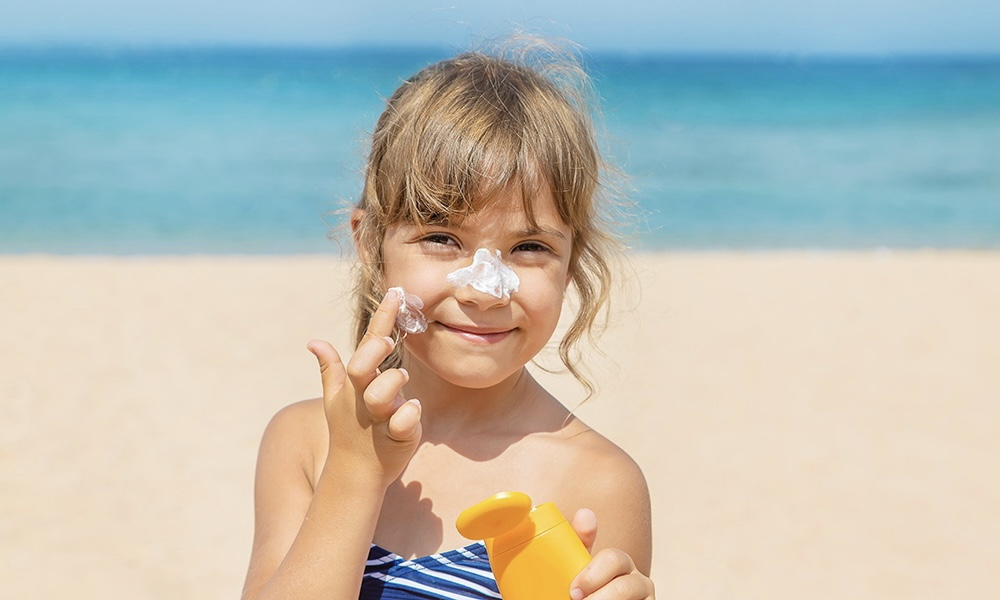 Как защитить детей от рака кожи?
